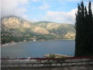 Vägen mellan Nice och Monacco. Fantastisk busstur!