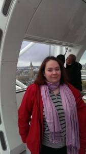 Lillasyster i London Eye
