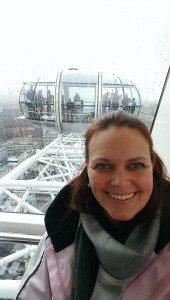 Selfie i London Eye