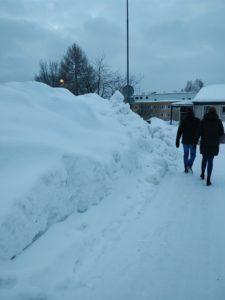 Snö överallt