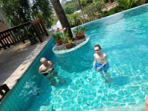 I vår pool