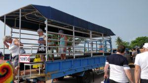 Transportmedel till båten