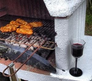 Vin och grillning!