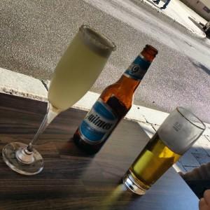 Gott att dricka innan maten på undanskymd restaurang
