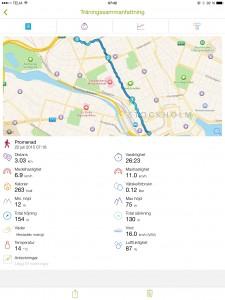 Promenad till jobbet